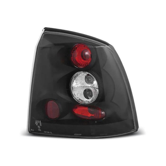 Paire de feux arriere Opel Astra G berline 97-04 noir