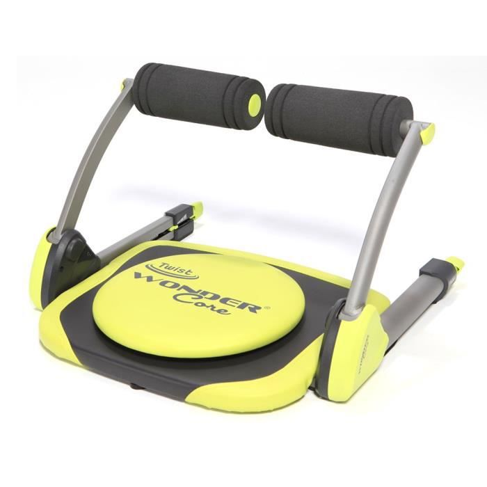 Wonder Core Twist – Appareil de Sport Compact Mixte Adulte pour Abdominaux, Biceps, Triceps, Dos, Buste et Jambes