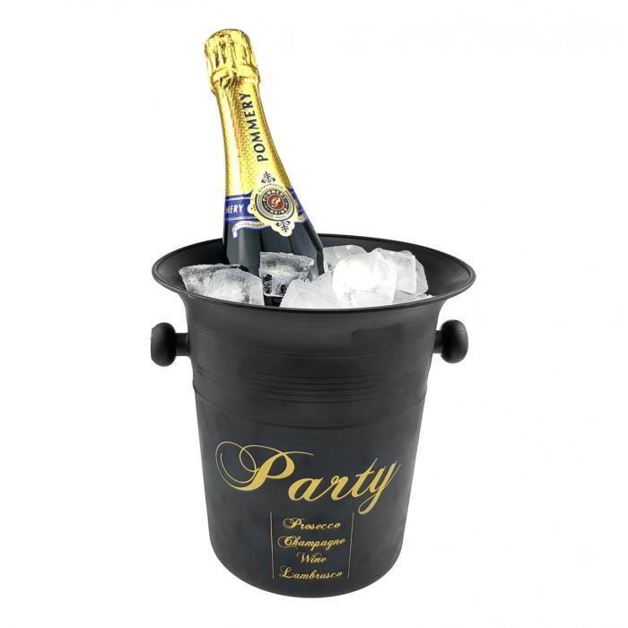 Seau à champagne-seau à glace - refroidisseur à vin,champagne,eau,jus