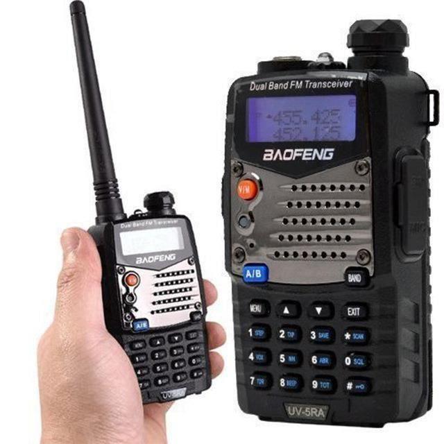 Longue portée Walkie Talkie Uhf Vhf Pofung UV-5RA Pour CB Radio Station Radio Scanner Police Deux voies Radio