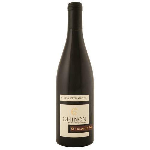 6 bouteilles - Vin rouge - Tranquille - Domaine Pierre et Bertrand Couly St Louans Le Parc Chinon Rouge 2015 6x75cl