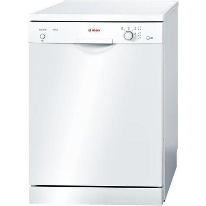 Bosch Serie 2 SMS24AW00E Lave-vaisselle pose libre largeur : 60 cm profondeur : 60 cm hauteur : 84.5 cm blanc