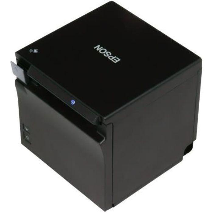 Epson TM m30 Imprimante de reçus thermique en ligne Rouleau (7,95 cm) 203 x 203 ppp jusqu'à 200 mm-sec USB 2.0, LAN, Bluetooth,…