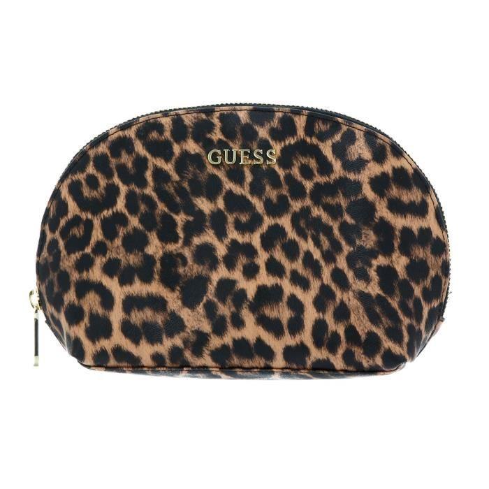 GUESS Lalie Dome Cosmetic Bag Natural [124485] - trousse de toilette / maquillage kit de confort voyage