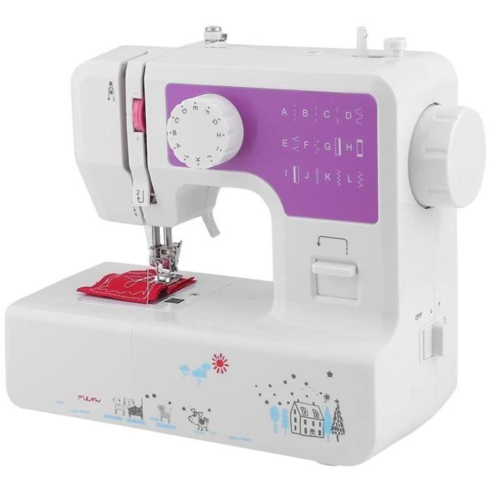 Nouveau version Machine à coudre électrique ménage lettres de broderie