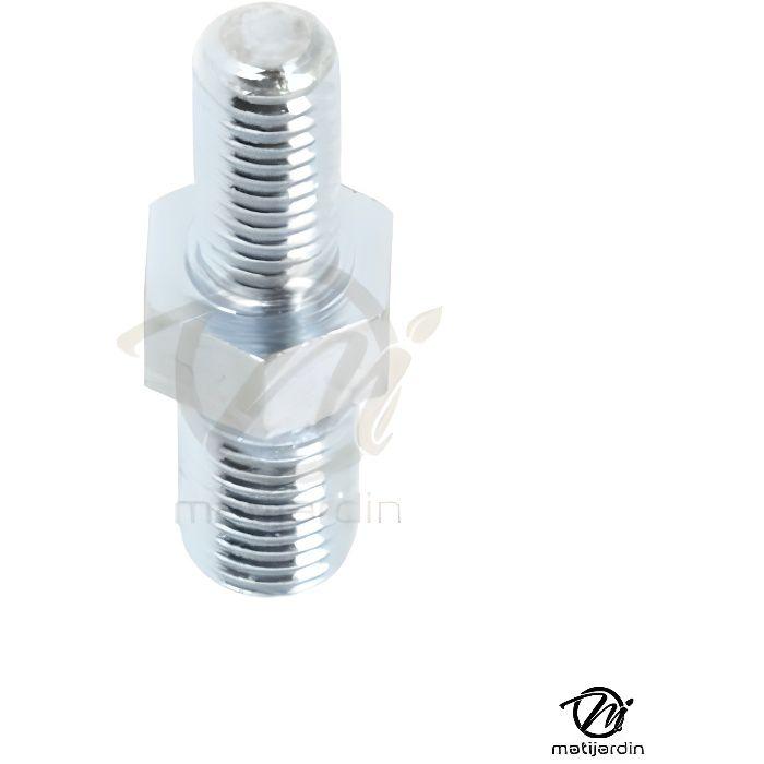 Adaptateur pour tête débroussailleuse. Mâle. Ø 10x1,25 / 8x1,25 mm