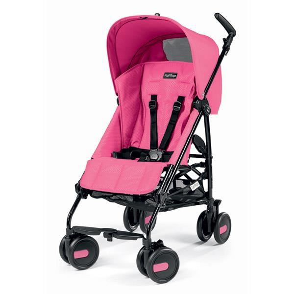 PEG PEREGO Poussette Canne Pliko Mini Rose