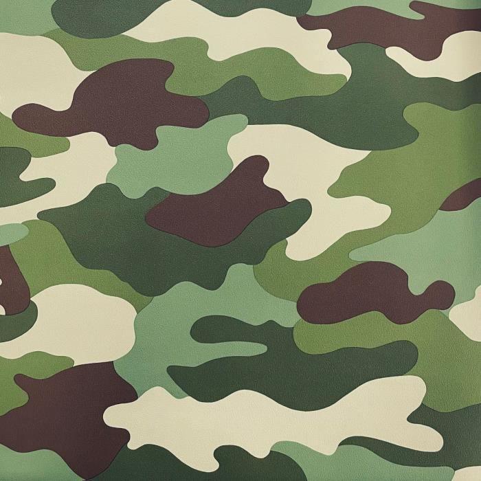 Camouflage Papier Peint 10m