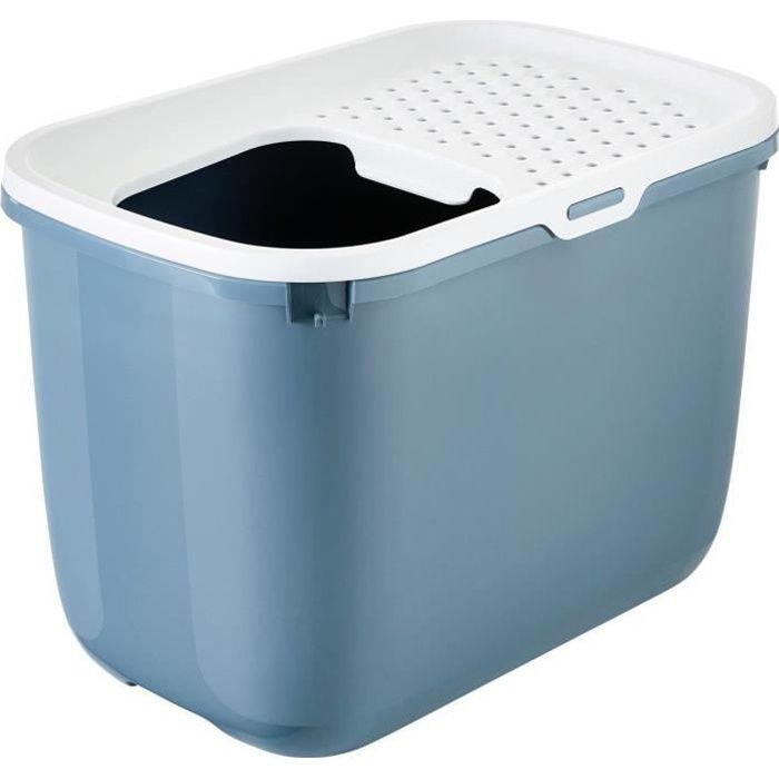 VADIGRAN Maison de toilette Hop - 58x39x40 cm - Bluestone