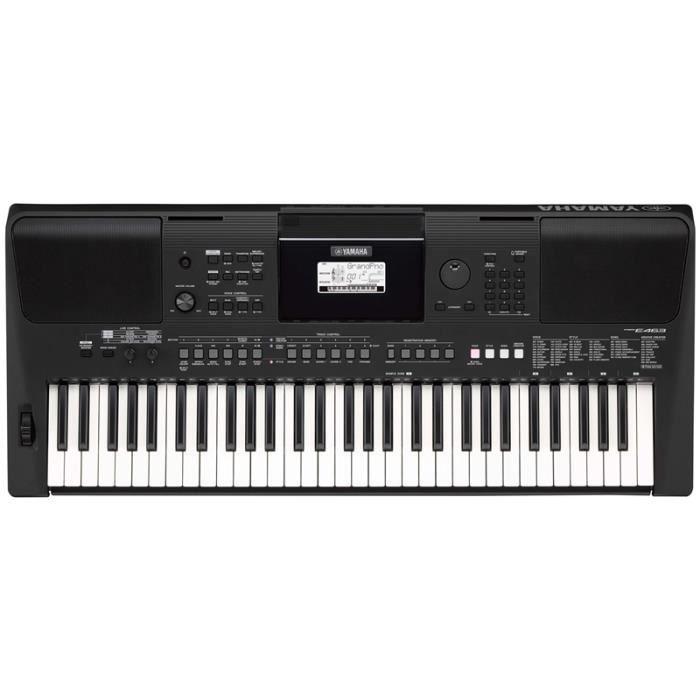 Clavier portable Yamaha PSRE463 61 Note