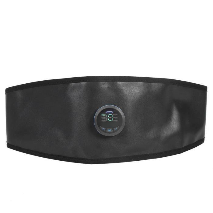 YOSOO Ceinture amincissante EMS EMS ceinture de taille stimulateur abdominal taille formateur perte de poids entraînement fitness