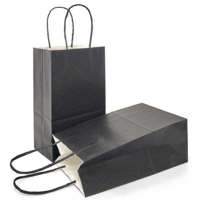 GuKKK Sacs-Cadeaux de P/âques pour P/âques F/ête emballer Les Cadeaux 18 Autocollants avec 12 Cartes de V/œux 6 Pcs Sac Cadeau Papier Kraft avec Poign/ée Sacs Cadeaux de P/âques /à Fabriquer et Remplir