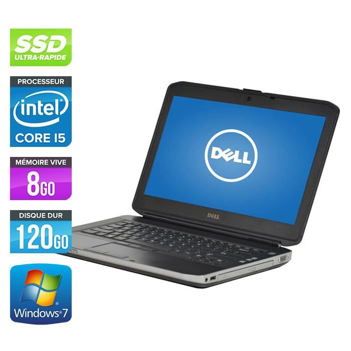 ORDINATEUR PORTABLE Pc portable Dell E5430 - Core i5-3320M 2,6GHz -8Go