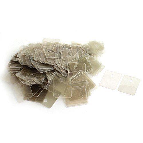 Bo/îte de 20 mm x 25 mm x 0.12 mm r/éparer Partie Mica isolant feuilles