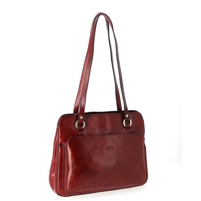 Sac à main Katana shopping 30 (L) x 23 (H) x 11 (E) cm, Rouge
