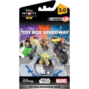 FIGURINE DE JEU Disney Infinity 3.0 Toy Box Expansion Game Speedwa