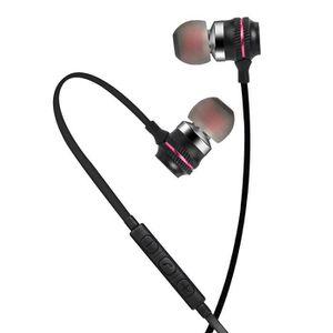 CASQUE - ÉCOUTEURS Métal filaire Écouteurs intra-auriculaires stéréo
