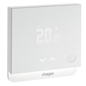 HAGER /électronique 25513 Hager Sas Thermostat simple /électronique HAGER SAS : 25513
