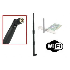 CLE WIFI - 3G Antenne Wifi de remplacement 9dBi.