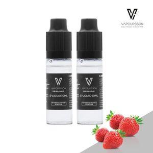 LIQUIDE VAPOURSSON 2 X 10ml E-Liquide   Fraise   2 Pack  