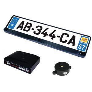 RADAR DE RECUL Bc-elec SB-E16 Support de plaque avec radar de …