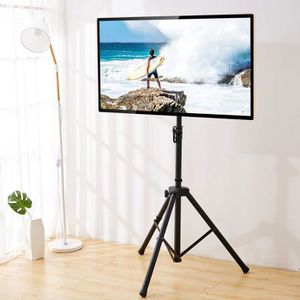 FIXATION - SUPPORT TV RFIVER Meuble TV Trépied Ecran Plat Support Télé s