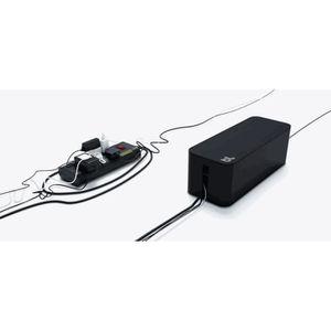 GOULOTTE - CACHE FIL BLUELOUNGE Boite cache-câbles - Noir
