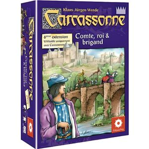 JEU SOCIÉTÉ - PLATEAU Carcassonne Extension 6 : Comte, Roi et Brigand