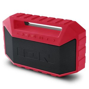 ENCEINTE NOMADE ION Audio Plunge Red   Enceinte Robuste Portable 2