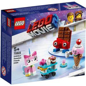 ASSEMBLAGE CONSTRUCTION LEGO® Movie 70822 Les meilleurs amis d'Unikitty !