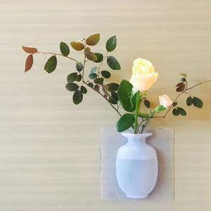 VASE - SOLIFLORE Vente chaude!!! Bleu Moderne petit vase mural en s