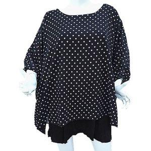 Femmes blouses shirts taille 52 54 56 58 60 T Shirt grande taille fleurs tunique dentelle