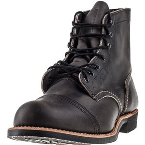 BOTTE Red Wing Iron Ranger Hommes Bottes charbon - 10 UK