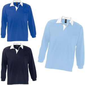 POLO Lot 3 polos rugby manches longues HOMME - 11313 -