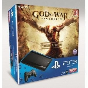CONSOLE PS3 PS3 500 GO + 1 DUAL SHOCK 3 + GOW 4 Ed. Spéciale