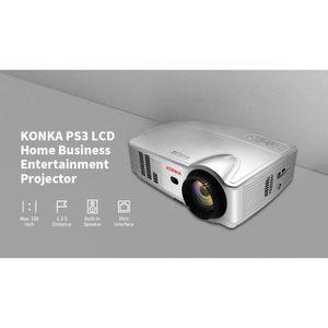 Vidéoprojecteur Vidéoprojecteur 4K LED Portable-KONKA PS3 Mini Pro