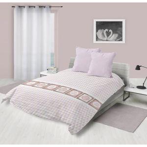 COUETTE Couette imprimée 220x240 DREAM ROSE Rose