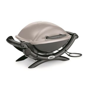BARBECUE DE TABLE WEBER Barbecue électrique Q 1400 - Gris granite