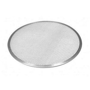 ACCESSOIRES DE FOUR 14 inch Pizza Screen Aluminium Serving Dish Round