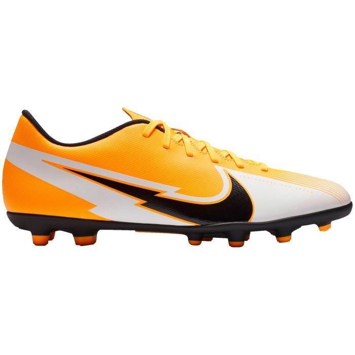 NIKE Chaussures de football VAPOR 13 CLUB FG/MG - Adulte - Orange