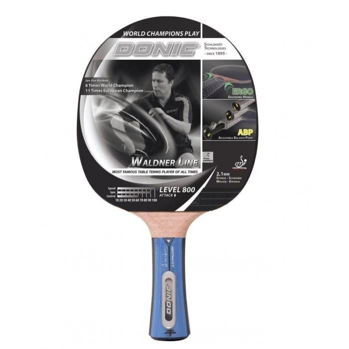 DONIC SCHILDKRÖT Raquette de tennis de table Waldner 800