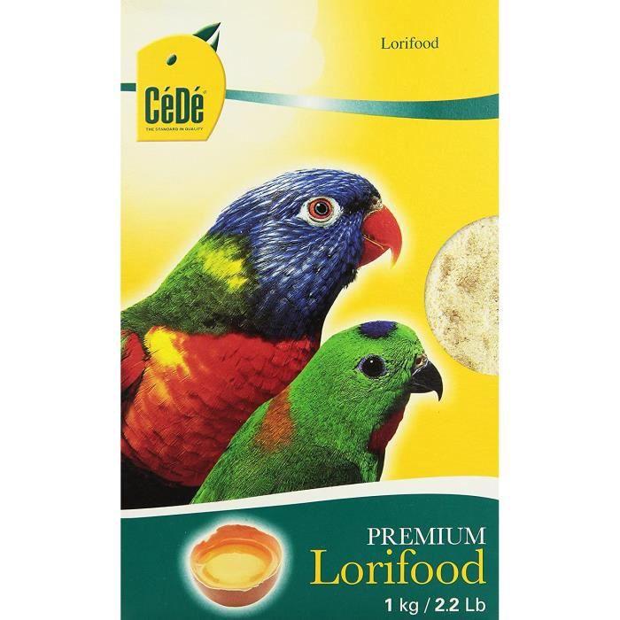 Nourriture pour oiseaux Cédé Lorifood Alimentation Complète pour Oiseau 1 kg 127622