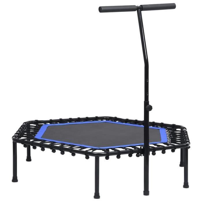 Trampoline de Fitness Pliable Trampoline de Gym gymnastique haute performance- avec poignée 122 cm Super��3499