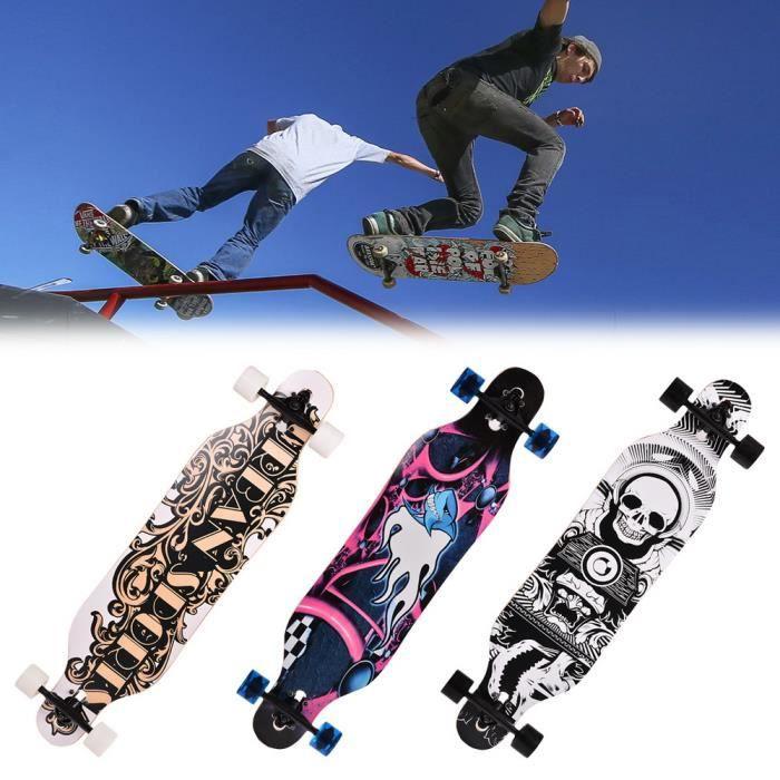 Longboard Planche À Roulettes Adulte Vitesse professionnel planche à roulettes
