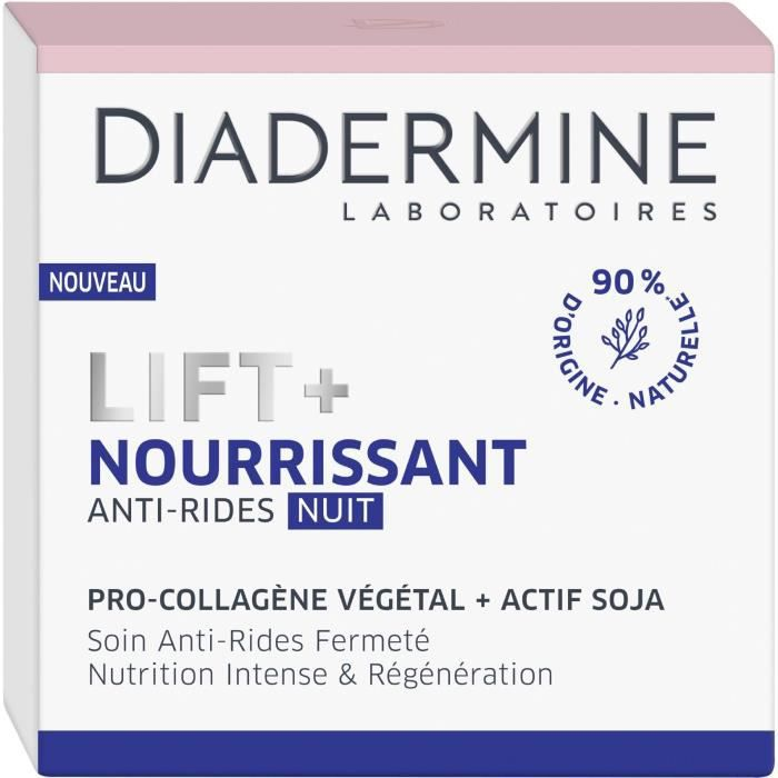 DIADERMINE Lift+ Nourrissant - Soin de nuit - Anti-rides Ultra Fermeté - 50 ml