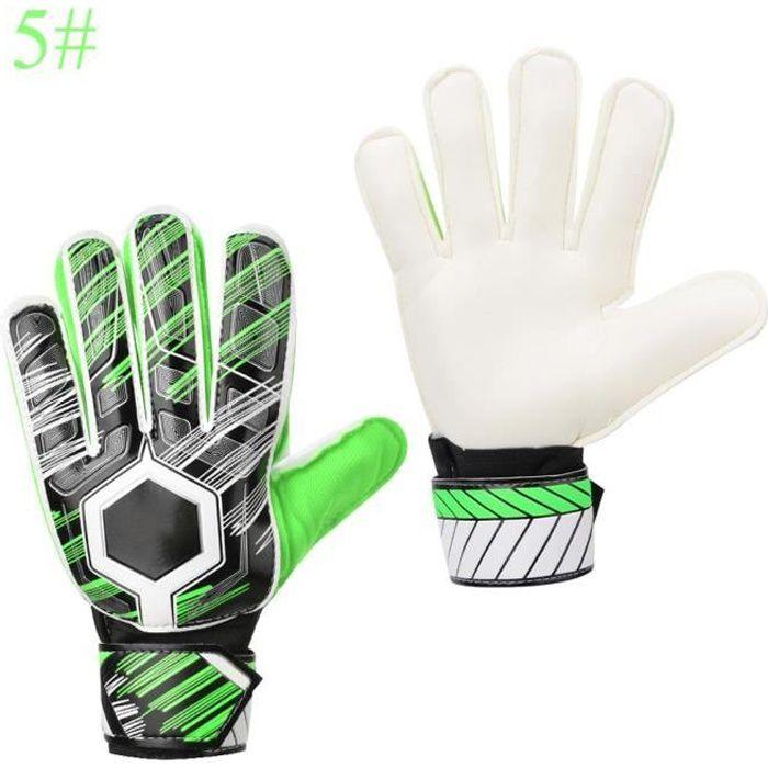 Enfants adultes football professionnel gardien de but gardien de but épaissir PU gants protecteur