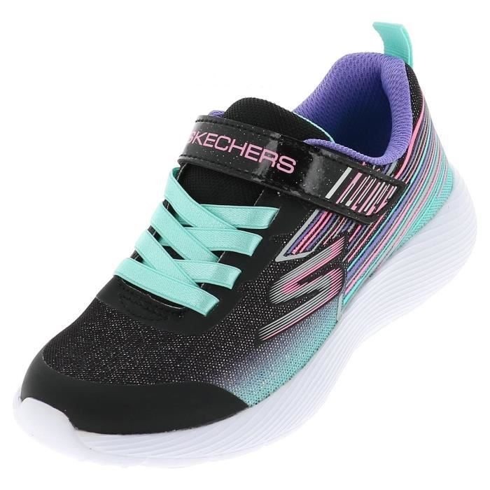 Chaussures scratch Dyna lite girls paillette - Skechers