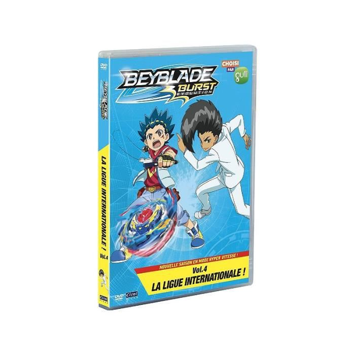 Beyblade Burst Evolution, Saison 2, Vol. 4 : La Ligue Internationale ! [DVD]