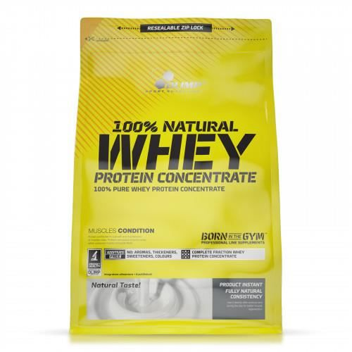 100 NATURAL WHEY PROTEIN CONCENTRATE OLIMP SPORT NUTRITION 600g sans arome