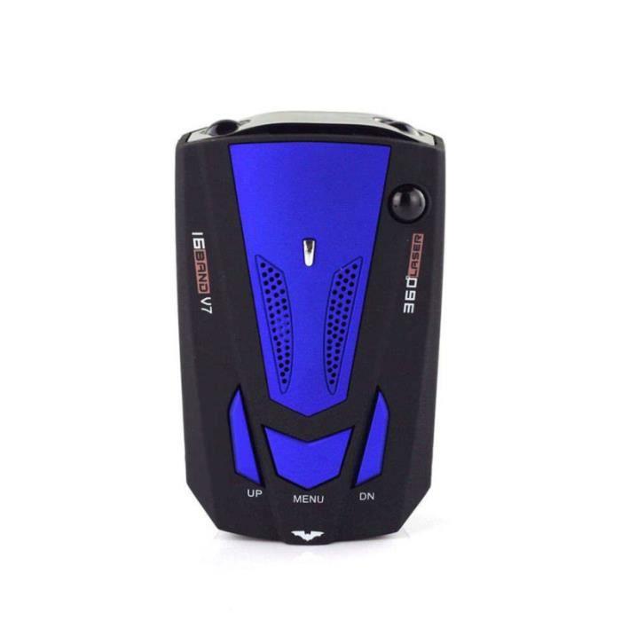 360 degrés voiture 16 bande V7 GPS Police Safe Detector Voice boite noire video - camera embarquee aide a la conduite - securite
